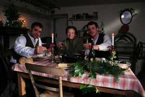 Christmas Dinner at Edwardian Farm